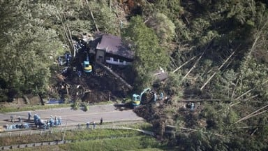 Four killed and 32 missing after 6.7 magnitude earthquake hits Japan