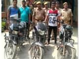 चोरी की तीन बाइक के साथ एक गिरफ्तार