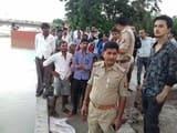 गंगा नहाने गए दो छात्र तेज धारा में बहकर लापता