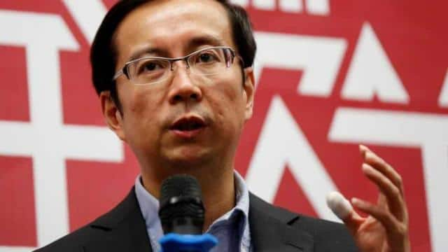 Daniel Zhang will succeed Jack Ma as Alibaba Group's executive chairman, just three years after he t