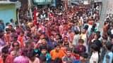 जय श्रीराम के नारों से गुंजायमान रहा शहर