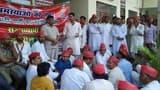भाजपा सरकार के खिलाफ पर उतरे विपक्षी दल