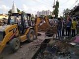 मेडिकल कॉलेज रोड पर पीडब्ल्यूडी ने शुरू किया नाला निर्माण