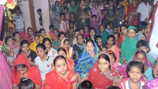 womens at mandir at bhagalpur