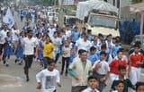 एक दौड़ देश के नाम में 150 स्कूल के बच्चे दौड़े