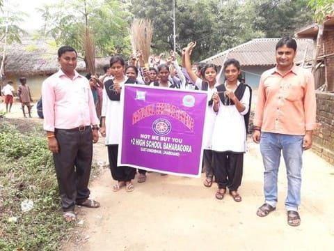 एनएसएस ने निकाली स्वच्छता जागरूकता रैली
