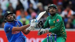 File Photo: Rohit Sharma and Sarfraz Ahmed