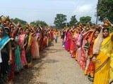 एक हजार एक महिलाओं ने निकाली कलश यात्रा