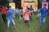फंगामा में बच्चों ने दी प्रस्तुति, जमकर हुई मस्ती