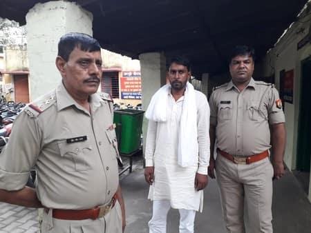 दरोगा भोंदे हत्याकांड में फरार साढ़ू गिरफ्तार