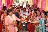गणपति बप्पा मोर्या के उदघोष से गूंजी स्मार्ट सिटी