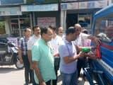 यातायात सुरक्षा को रोटरी क्लब ने चलाया जागरुकता अभियान