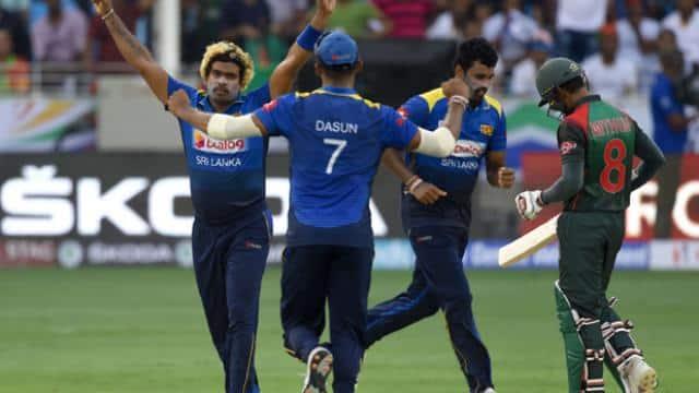 Ban vs SL live- मलिंगा ने लिए 4 विकेट (photo - AFP)