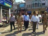 चन्दौसी में रैली निकालकर लोगों को मतदान के प्रति किया जागरूक