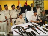 double barrel rifle seized and woman arrested from barhad in munger AK47 issue