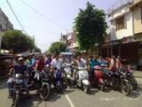 टनकपुर में व्यापारियों ने बाइक रैली निकाल जताया आक्रोश