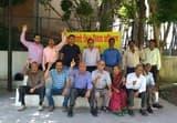 अल्मोड़ा में डीडीए के विरोध में दिया धरना