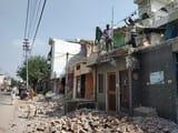ज्वालापुर में लोगों ने स्वयं तोड़े डाले अतिक्रमण