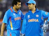 File Photo: Zaheer Khan and MS Dhoni