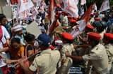 किसानों व महंगाई के मुद्दे पर 'हम ने राजभवन मार्च किया