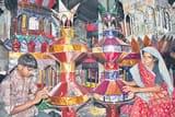 अजमेरशरीफ व मक्का मदीना डिजाइन के ताजियों की डिमांड