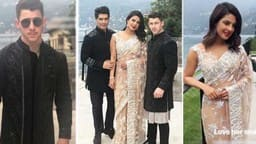 Priyanka Chopra Nick Jonas desi look