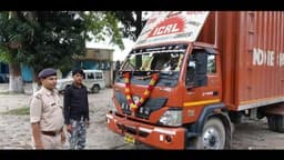 rampage on robbery of medicine of two crores from truck in araria four lane highway