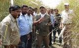 एफडी ने नेपाल सीमा पर किया लग्गाभग्गा का निरीक्षण