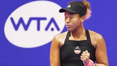 Japanese tennis player Naomi Osaka in final of Pan Pacific Open