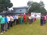 छात्रों ने स्वच्छता पखवाड़े में निकाली जागरूकता रैली