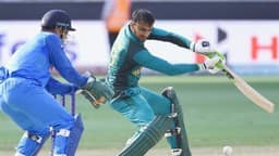 MS Dhoni and Shoaib Malik