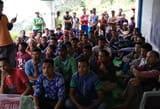 ग्राम सभा कनार के ग्रामीणों ने कहा कि सड़क नहीं तो वोट नहीं