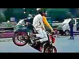 bikers created ruckus near the Parliament in delhi (photo credti-ht)