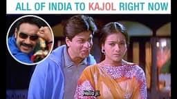 Ajay Devgn, Kajol,
