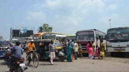 Bhagalpur: Dixon more bus stand of Tilkamanjhi Police Station area