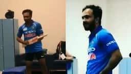 india vs pakistan asia cup 2018: धांसू जीत के बाद ड्रेसिंग रूम में जाधव का डांस हुआ वायरल