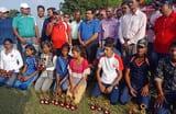 अवनीश कुमार व माधुरी यादव बनी चैम्पियन, विजेता हुए सम्मानित
