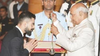 BCCI congratulates Virat Kohli for Khel Ratna Award