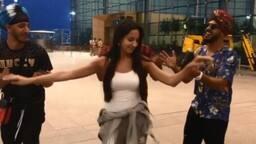 VIDEO: दोस्तों को एयरपोर्ट छोड़ने गईं नोरा, करने लगी ऐसी डांस कि सब देखने लगे