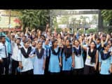rampage and protest of engineering students against brutally beaten in campus by notorious mens