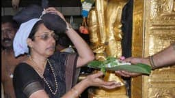 Sabarimala Temple  (ANI Photo)