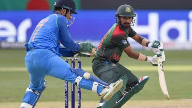 Bangladesh batsman Liton Das scored his maiden century in the final against India onFriday.(AFP)