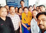 प्रशासनिक अधिकारी श्रीमती साह को सेवानिवृत्ति पर विदाई
