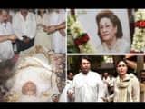 Krishna Raj Kapoor funeral