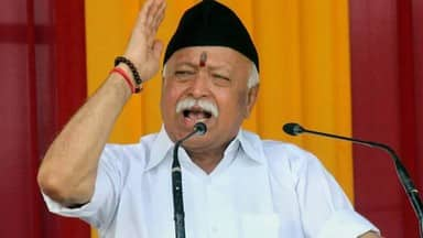 RSS chief Mohan Bhagwat says oppsotion parties can not Counter construction of ram mandir