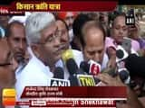 Kisan Kranti Yatra : 7 Out of 9 Demands Accepted After Rajnath Singh Meets says,MoS Agriculture Gajendra Singh Shekhawat