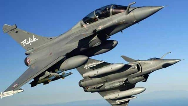 Rafale Fighter Plance (File Pic)