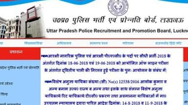 uttar pradesh: UPPRPB Advertises Recruitment For 1679 Fireman posts read notification on up police w