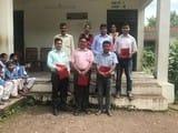 राउमावि तलिया बाज में पीटीए ने शिक्षको को संमानित किया