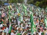 Farmers end protest on Wednesday early morning